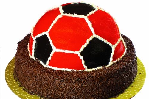 Torta Goal Bakers - Nas Cores do Seu Time ! -