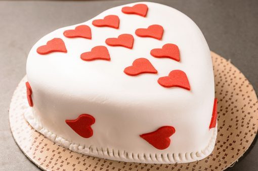 Torta Love Forever Branca -
